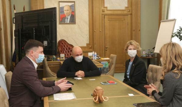 Игорь Артамонов встретился с Наталией Цайтлер.