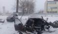 Авария в Петропавловском районе.