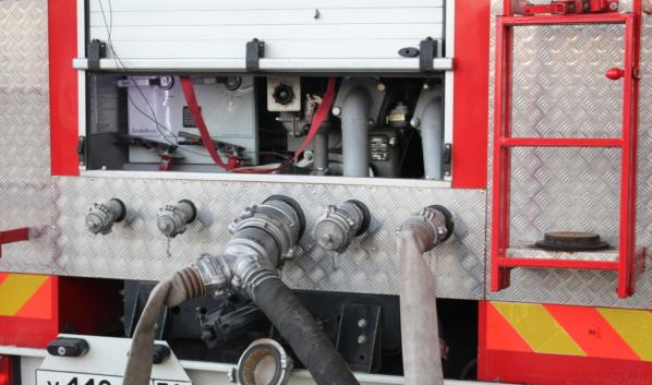 На месте ЧП работали 4 пожарных отделения.