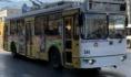 Троллейбус №7.