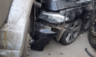 В аварии пострадал один человек.