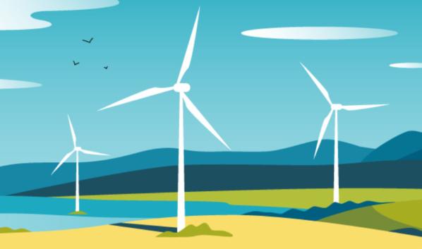 Ветряная энергия.