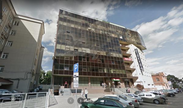 Кальянная находится в этом здании.