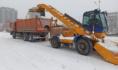 Уборка снега в Воронеже.