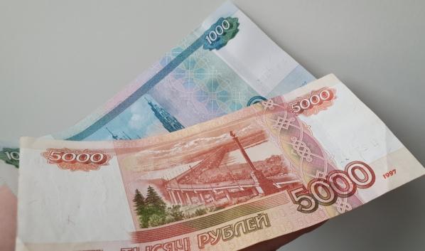 Горожанин лишился 6 тысяч рублей.