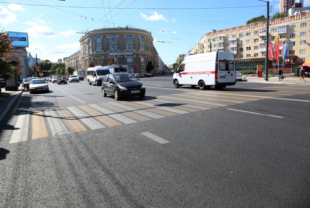 Ремонт дорог в Воронеже.