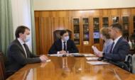 Встреча Наталии Цайтлер и Андрея Клычкова.