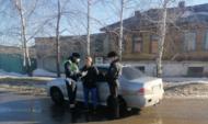 Рейд приставов с полицейскими.