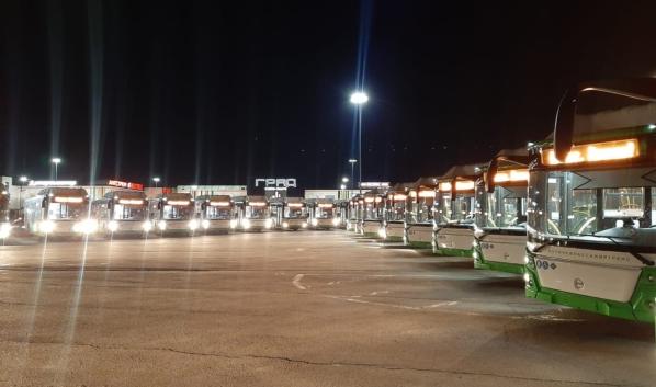 Автобусы прибыли в Воронеж.