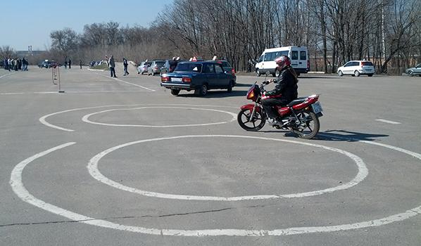 Площадка останется только для мотоциклистов.