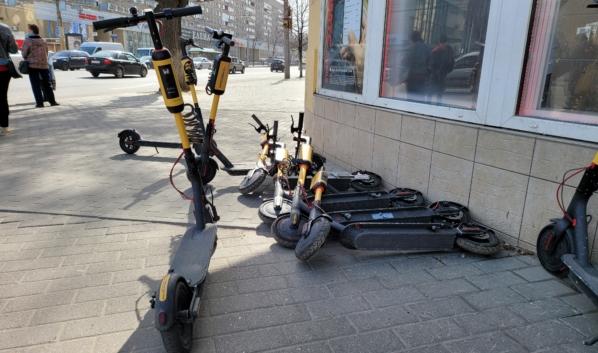 Электросамокаты в Воронеже.