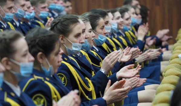 20-летний юбилей Воронежского института ФСИН.