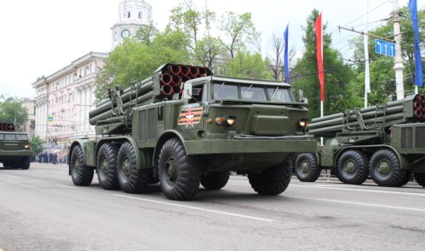 7 мая состоится генеральная репетиция парада Победы.