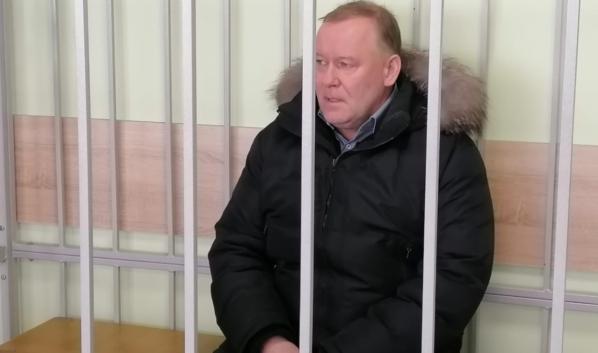 Юрий Бавыкин в суде.