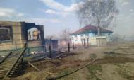 Последствия пожара в Мечетке.