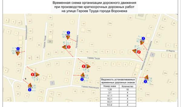 Перекроют движение по улице Героев Труда.