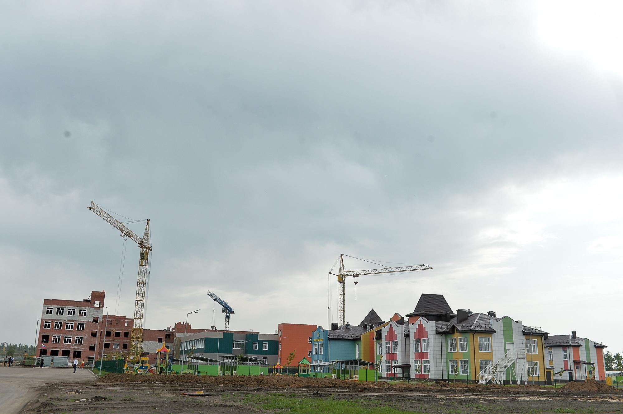 Новый ЖК в Борисоглебске.