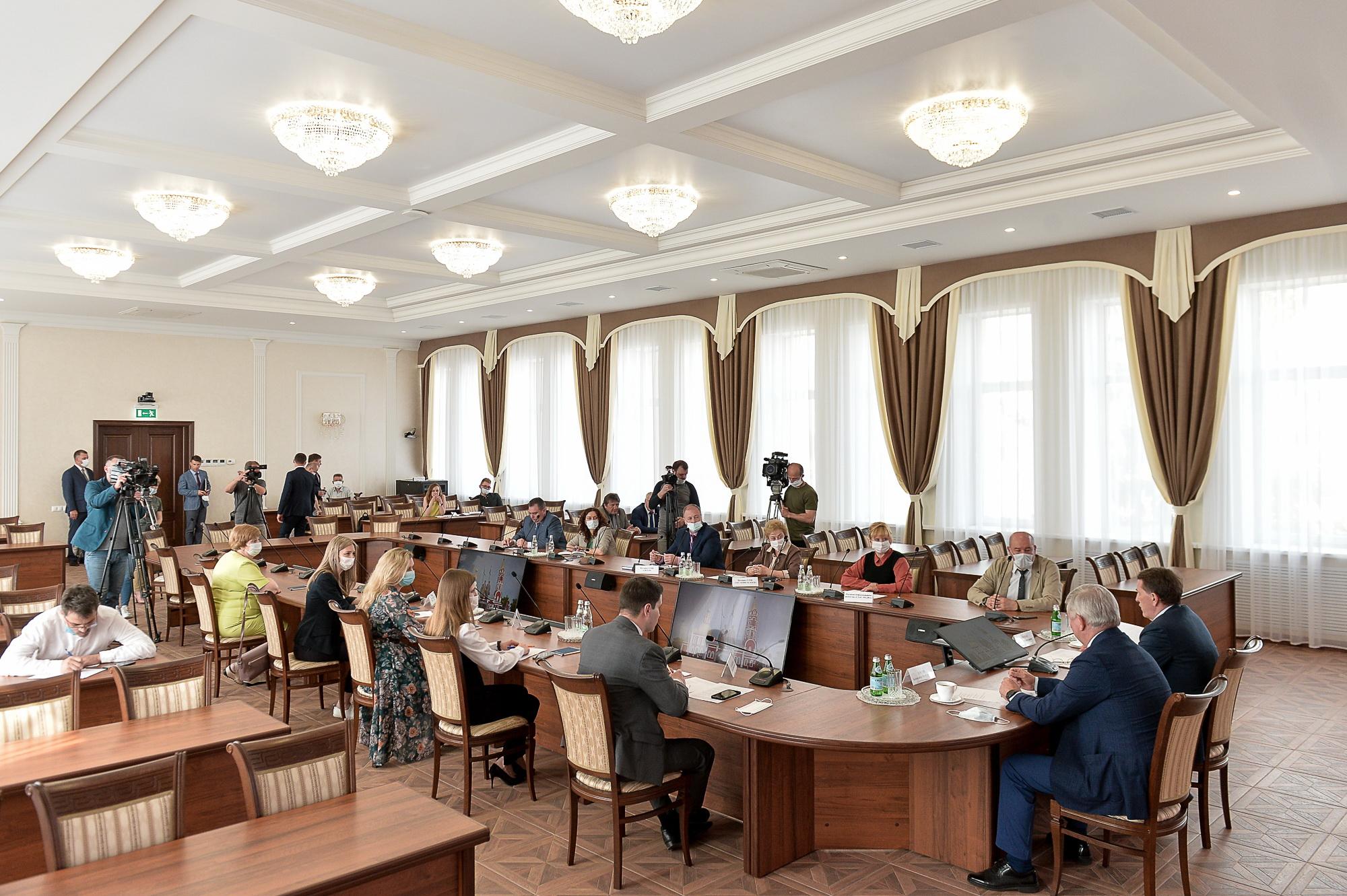 Пресс-конференция в Борисоглебске.