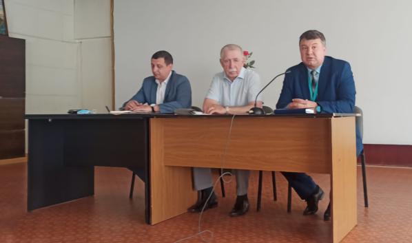 Николай Нетяга встретился с трудовым коллективом Технической Академии Росатома.