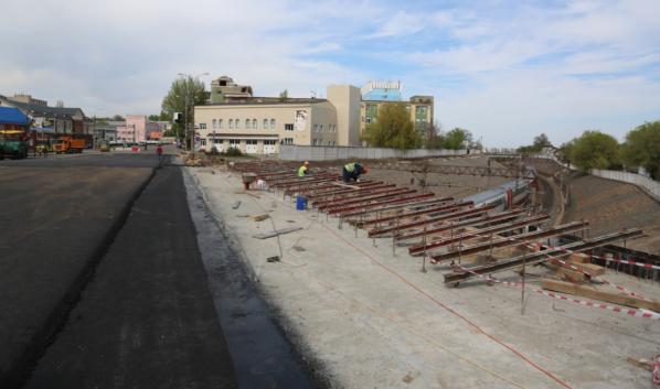 Путепровод на улице Ленина.