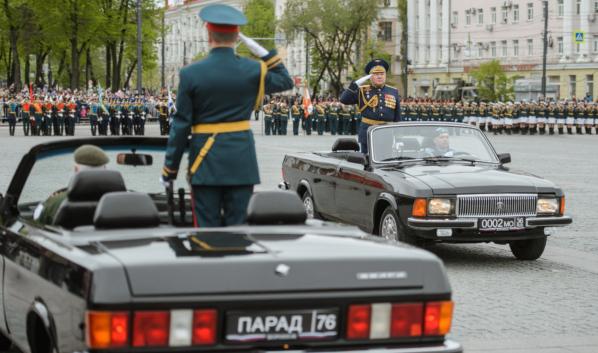 Парад Победы в Воронеже.