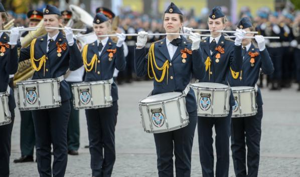 Празднование Дня Победы в Воронеже.