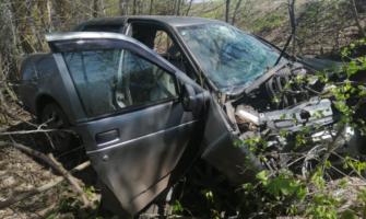 Авто после аварии.