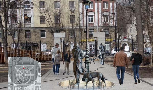 Скульптуру установят в парке.