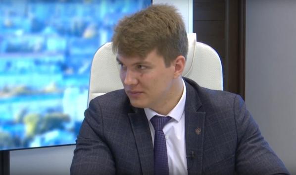 Замруководителя управления транспорта мэрии Максим Захаров.