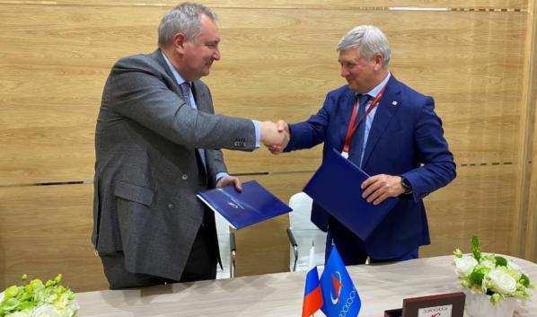 Дмитрий Рогозин, Александр Гусев.