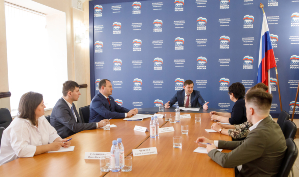 Владимир Нетёсов провёл встречу.