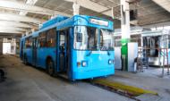 Троллейбус №8.