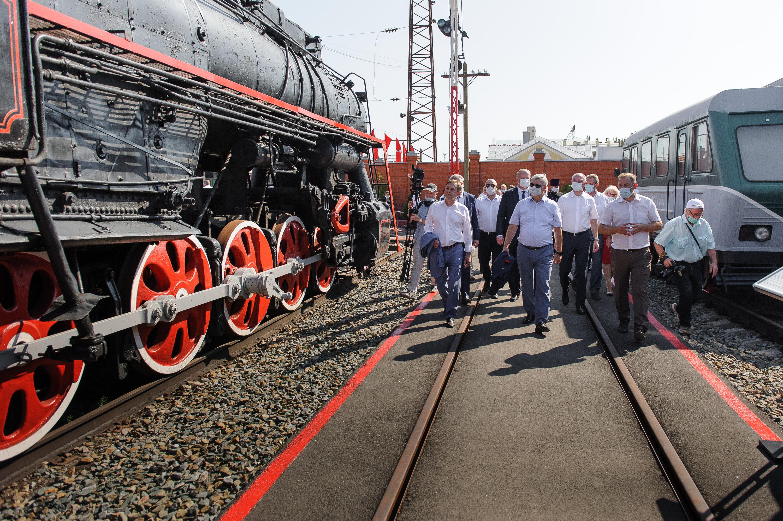 «Графский поезд».