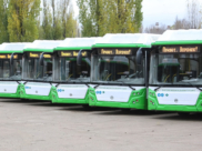 Новые автобусы в Воронеже.