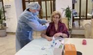 Татьяне Москальковой делали прививку 29 апреля.