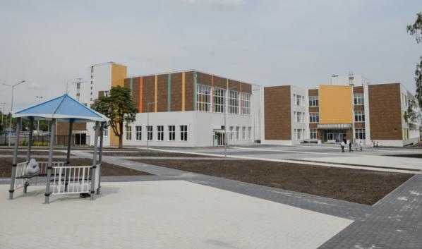 Новая школа в Семилукском районе.