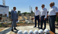 Строительство школы в Садовом находится на контроле у Сергея Лукина.