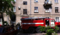 Пожар на улице Лизюкова в Воронеже.