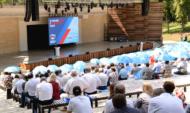 Форум партии состоялся в Центральном парке.