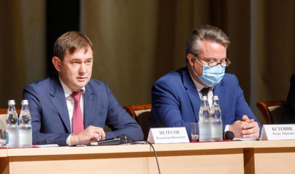 Владимир Нетёсов, Вадим Кстенин.