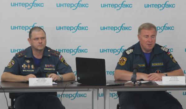 Евгений Воеводин и Владимир Волков.