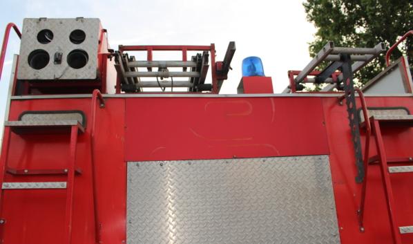 Спасатели быстро потушили огонь.