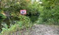 Река, где утонула школьница.