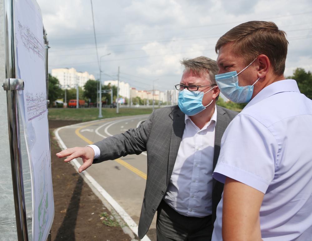 Мэр анонсировал строительство новых велодорожек.