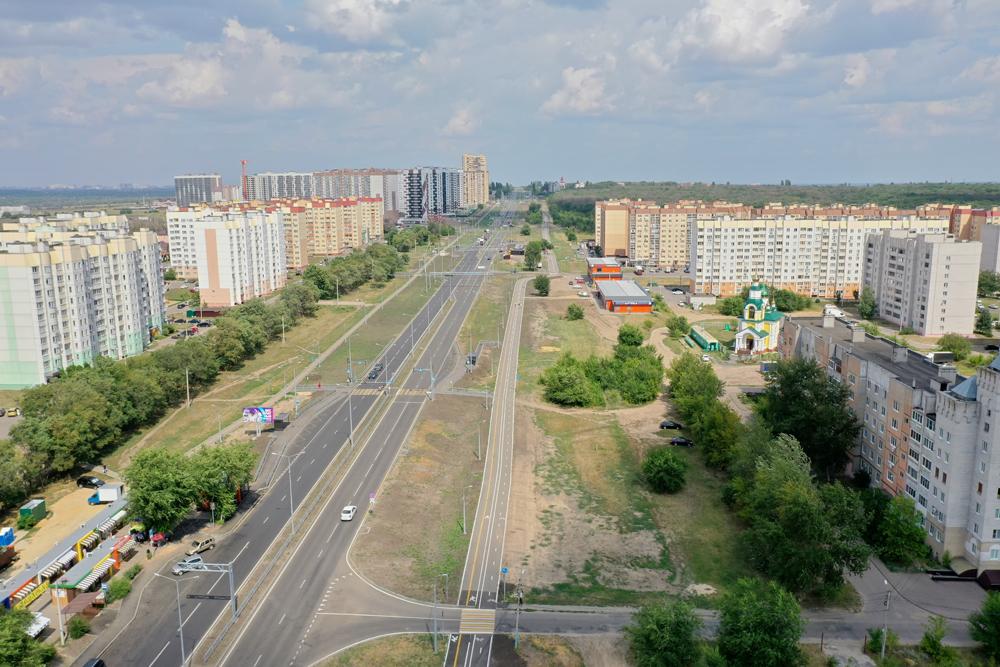 Улица Острогожская.