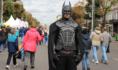 Супергерои ждут Дня города.