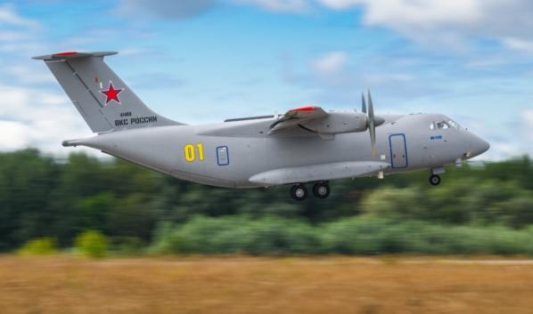 Тот самый Ил-112в при перелете из Воронежа в Подмосковье.