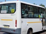 Один из автобусов, который изменит свой путь.