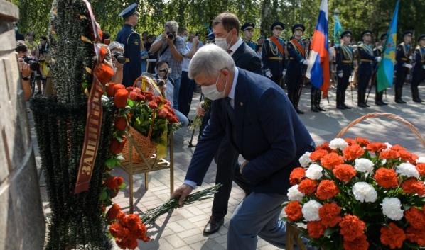 День ВДВ в Воронеже.
