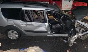 В аварии пострадали семь человек.